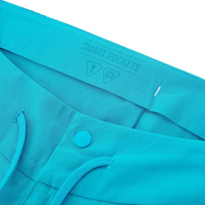Corsaire randonnée nature femme NH500 turquoise