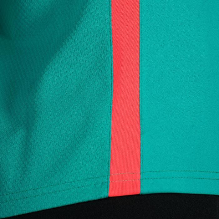Maillot de Handball adulte Hummel de couleur menthol et blanc - 1315314