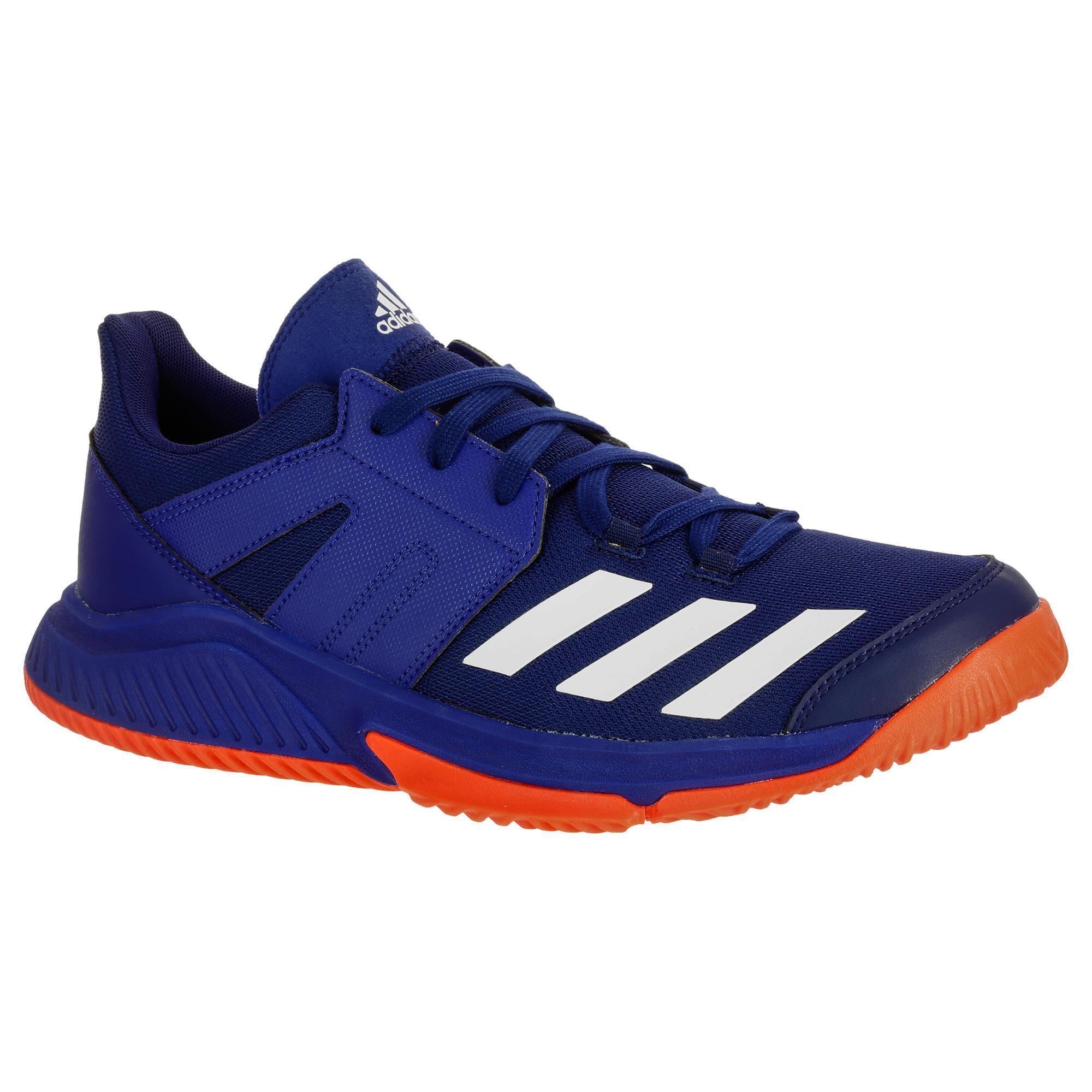 Handballschuhe Essence Erwachsene blau/rot   Schuhe > Sportschuhe > Handballschuhe   Adidas