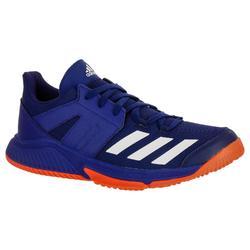 Chaussures de Handball ESSENCE Adulte de couleur bleu et rouge