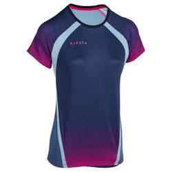 Maillot de volley-ball femme V500 bleu