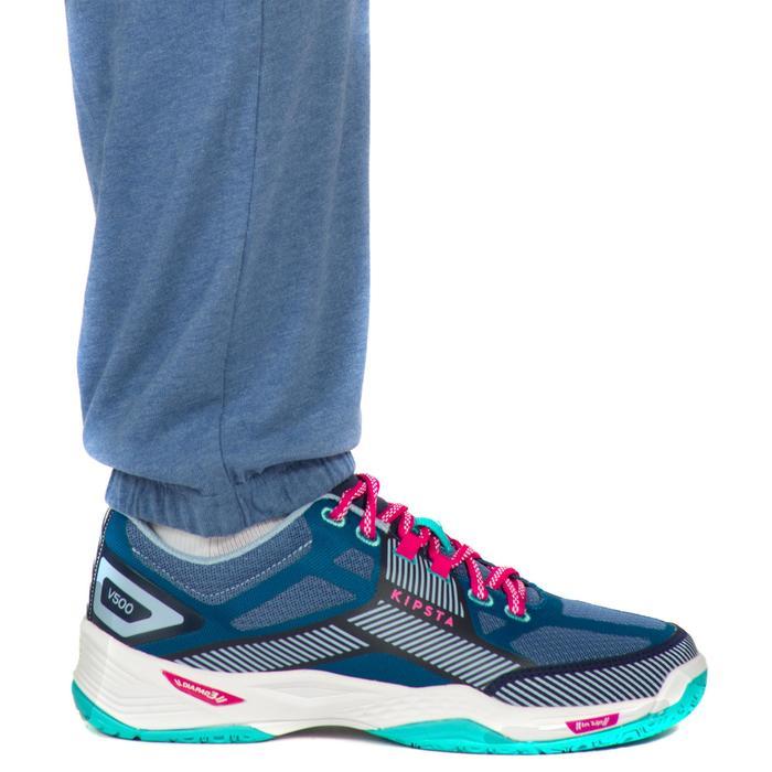 Pantalón largo de Voleibol Allsix V100 mujer azul