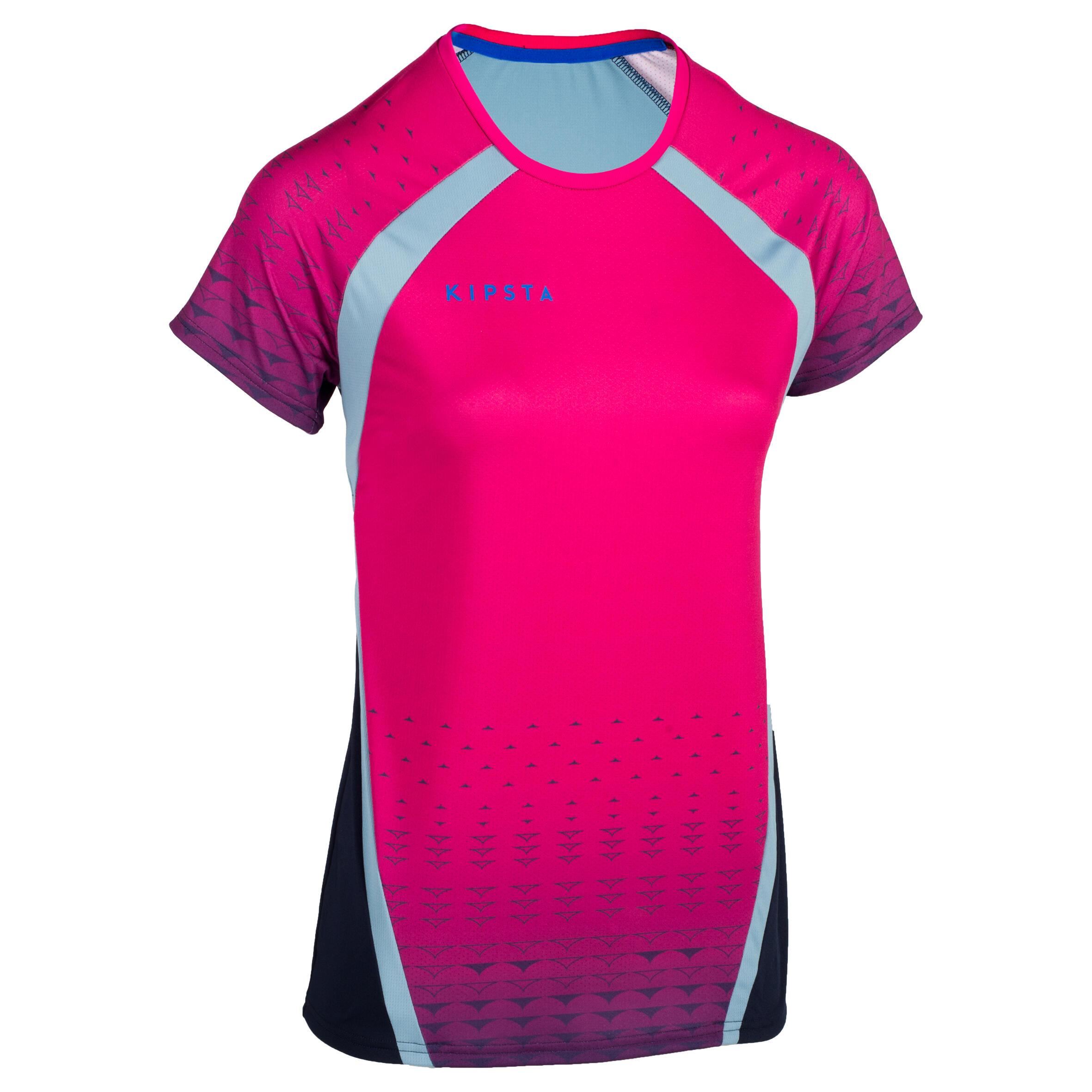 Kipsta Volleybalshirt V500 voor dames roze