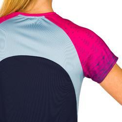 Camiseta de voleibol mujer V500 rosa