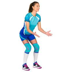 Maillot de volley-ball femme V500 vert