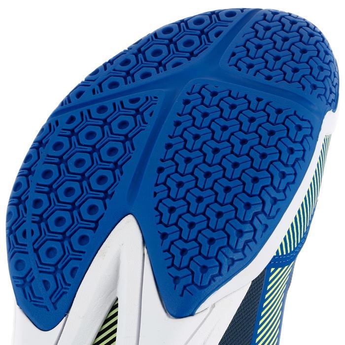 Chaussures de volley-ball V500 homme bleues et jaunes