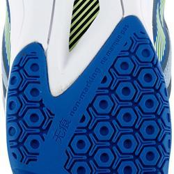 Volleyballschuhe V500 Herren blau/gelb
