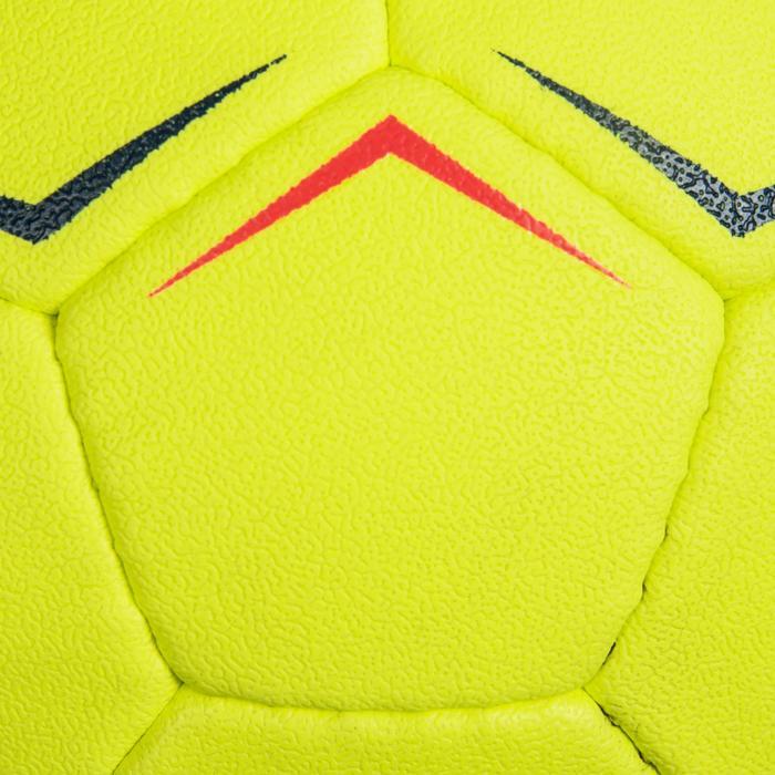 Handball H100 Soft Größe 0 gelb