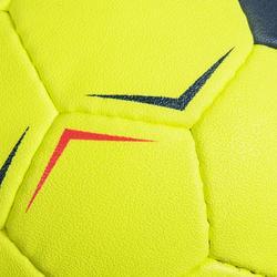 Handbal voor kinderen H100 Soft M0 geel / roze