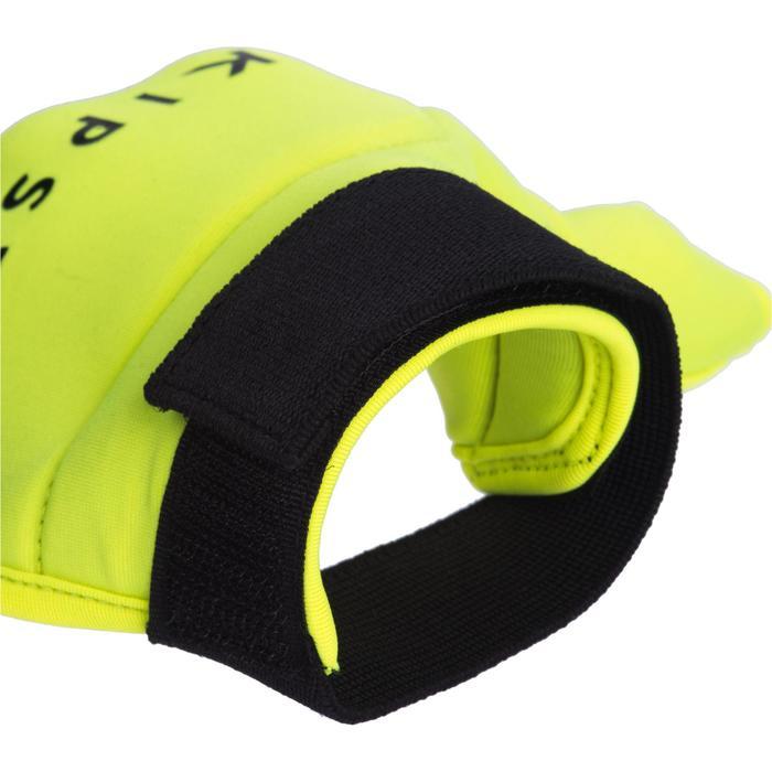 Gant de hockey sur gazon intensité faible à moyenne enfant et adulte FH100 jaune