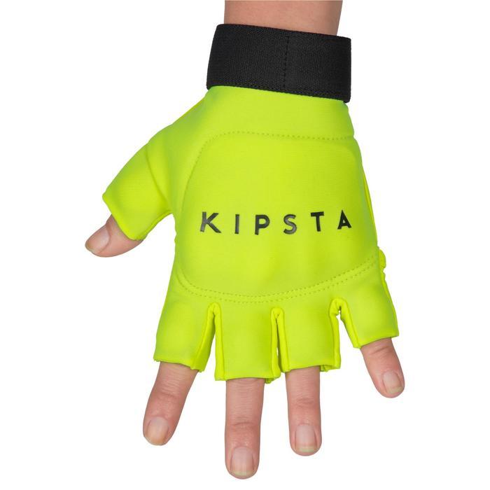 Hockeyhandschoen lage / gemiddelde intensiteit kinderen / volwassenen FH100 geel