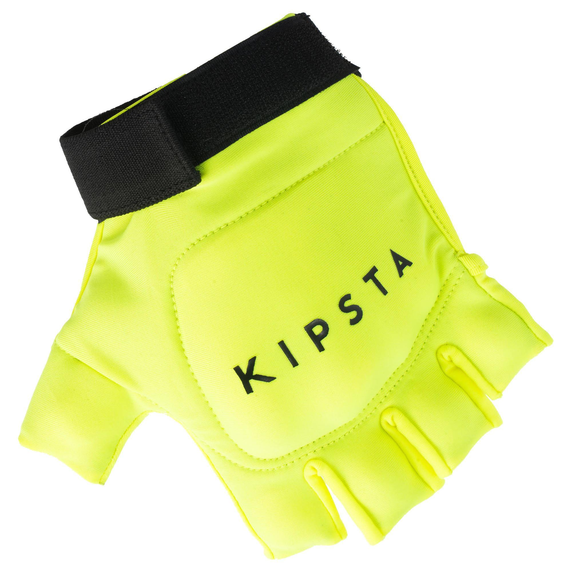 Kipsta Hockeyhandschoen lage / gemiddelde intensiteit kinderen / volwassenen FH100 geel