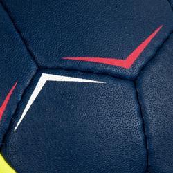 Ballon de handball enfant H100 soft T1 bleu/jaune
