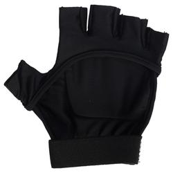 Feldhockey-Handschuhe FH100 mittlere Intensität Kinder/Erwachsene schwarz