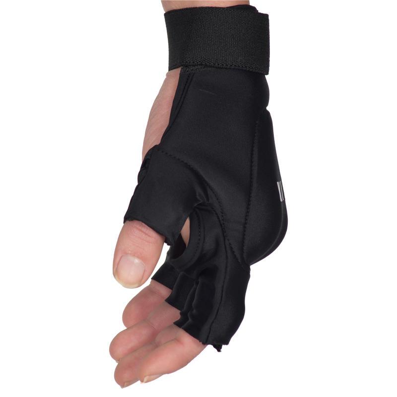 FH100 Kids'/Adult Low to Medium Intensity Field Hockey Glove - Black