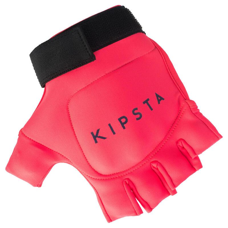 Kids' Low Intensity 1 Knuckle Field Hockey Glove FH100 - Pink