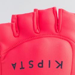 Handschuh Feldhockey FH100 Kinder/Erwachsene rosa