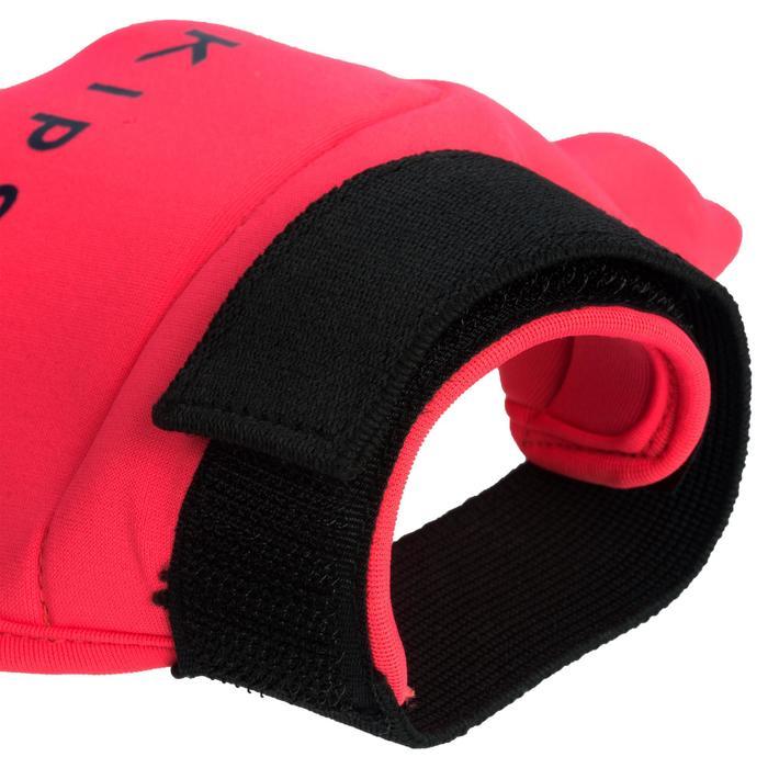 Gant de hockey sur gazon intensité faible à moyenne enfant et adulte FH100 rose