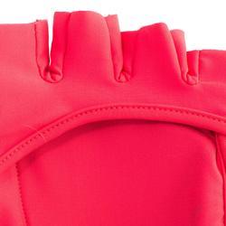 Feldhockey-Handschuhe FH100 mittlere Intensität Kinder/Erwachsene rosa