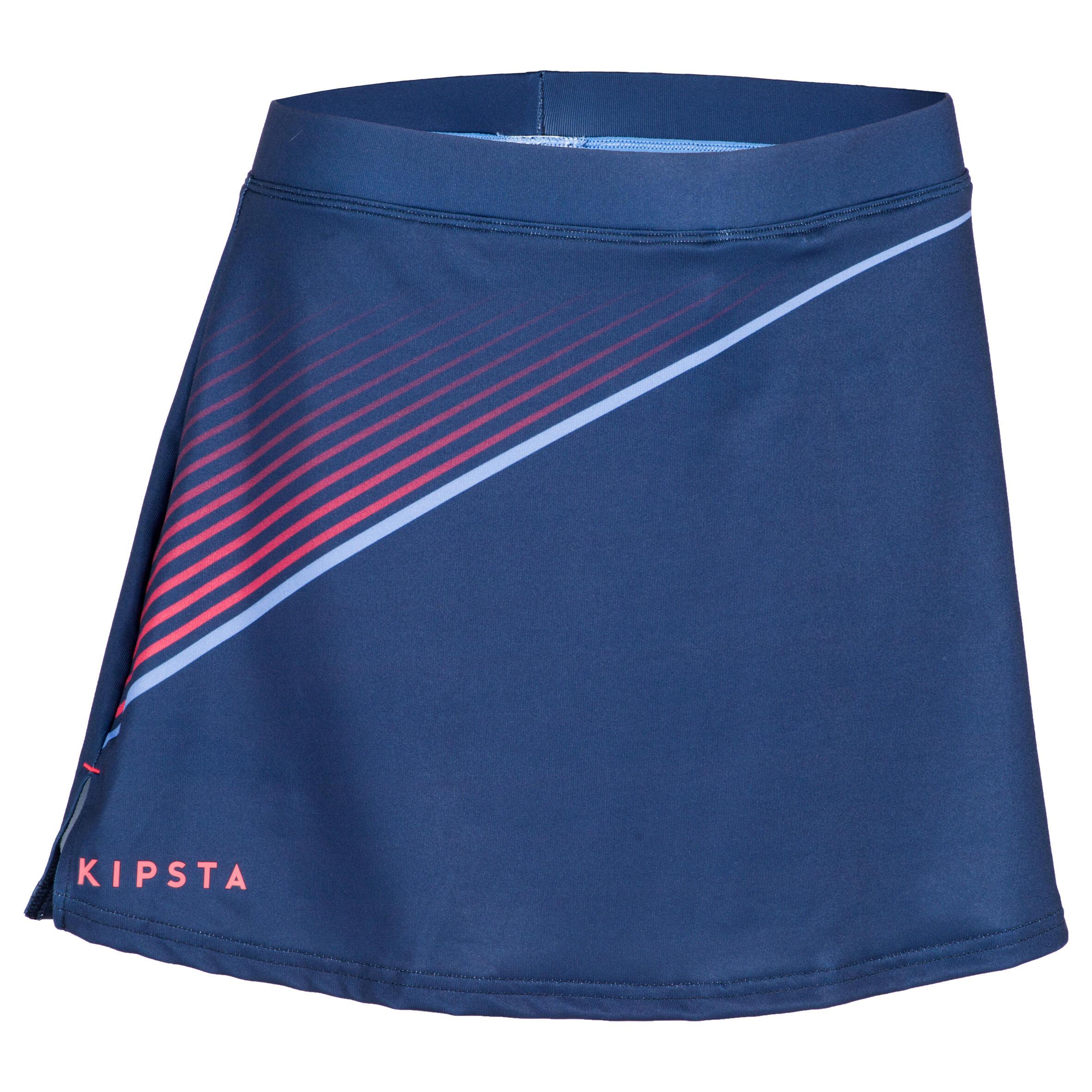 Feldhockey-Rock FH500 Damen blau | Sportbekleidung > Sportröcke | Blau | Trikot | Kipsta
