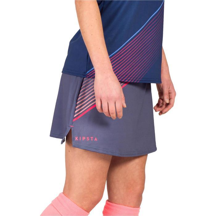 Rokje voor veldhockey dames FH500 grijs