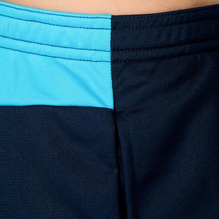 Short de hockey sur gazon garçon FH100 bleu marine et bleu clair
