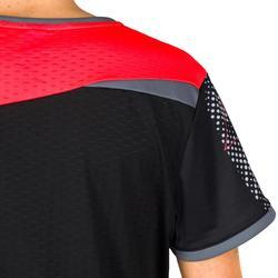 Camiseta de Balonmano Atorka H500 Mujer Negro Rosa