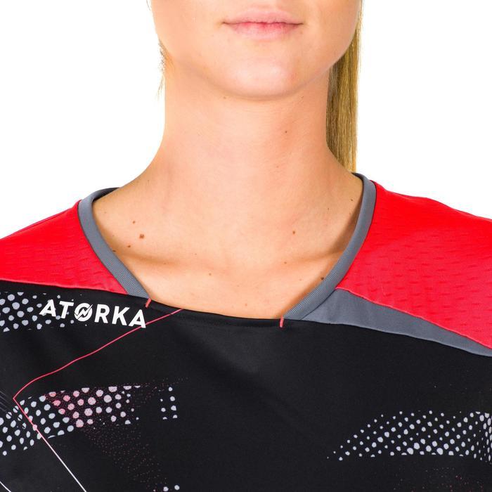Maillot de handball H500 rose et noir - 1315636