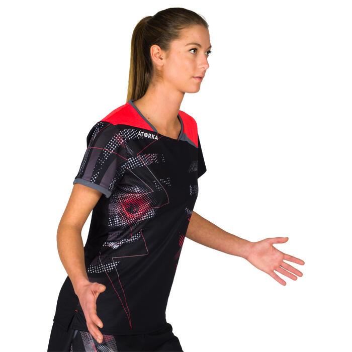 Maillot de handball H500 rose et noir - 1315637