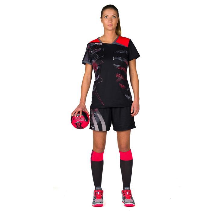 Maillot de handball H500 rose et noir - 1315638