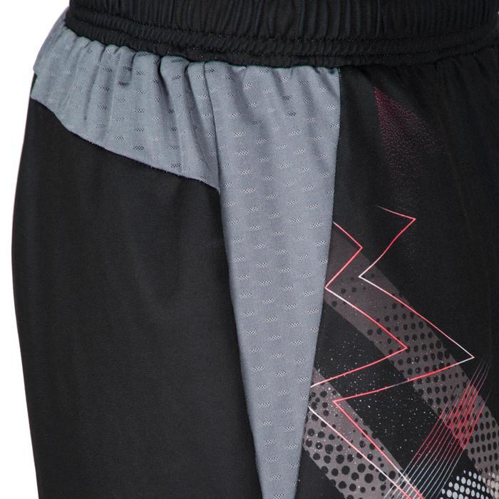 Short de handball H500 femme noir et - 1315640