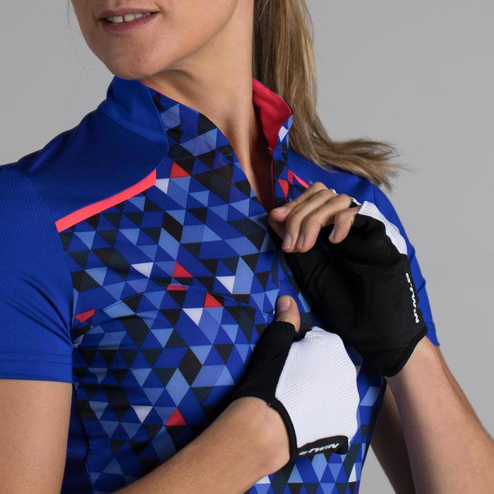 MAILLOT VELO MANCHES COURTE FEMME 500 - 1315846