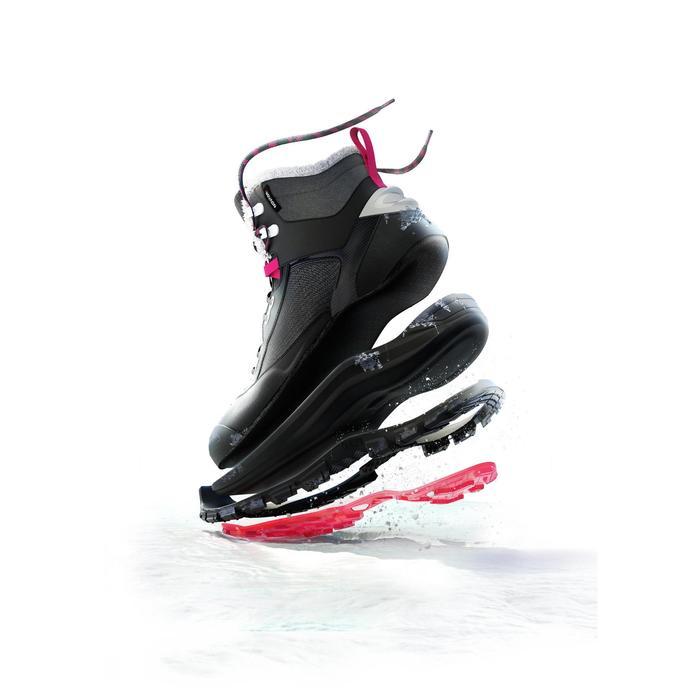 Chaussures de randonnée neige femme SH500 active chaudes et imperméables - 1315881