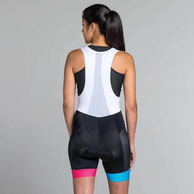 900 Women's Cycling Bib Shorts - Team Triangles