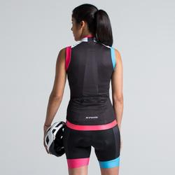 MAILLOT CICLISMO SIN MANGAS 900 MUJER