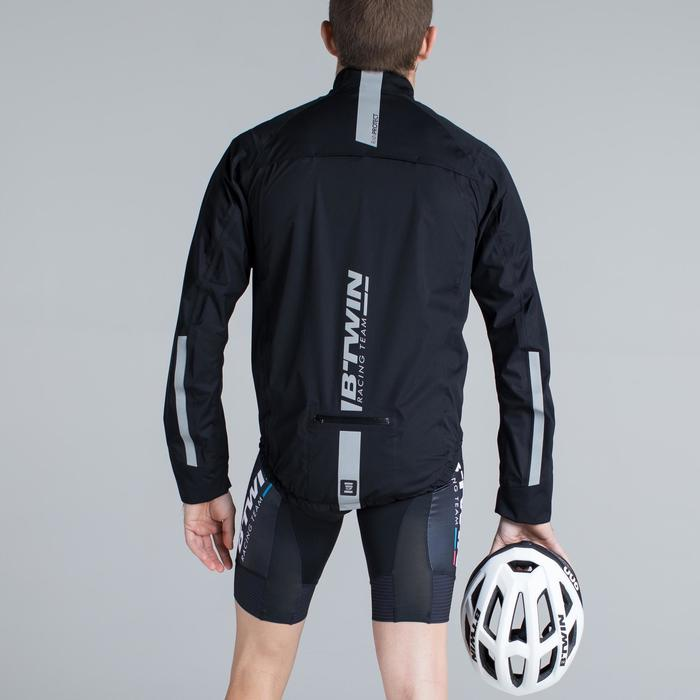 Fahrrad-Regenjacke Rennrad 900 Herren schwarz
