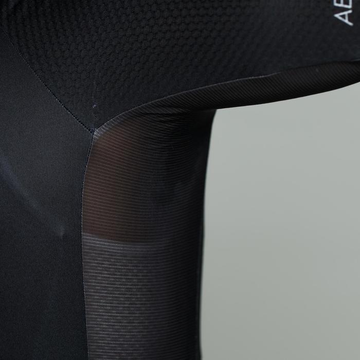 Kurzarm-Radtrikot Rennrad 500 Herren schwarz