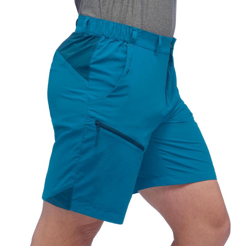 Men's Mountain Hiking Shorts MH100 - Blue