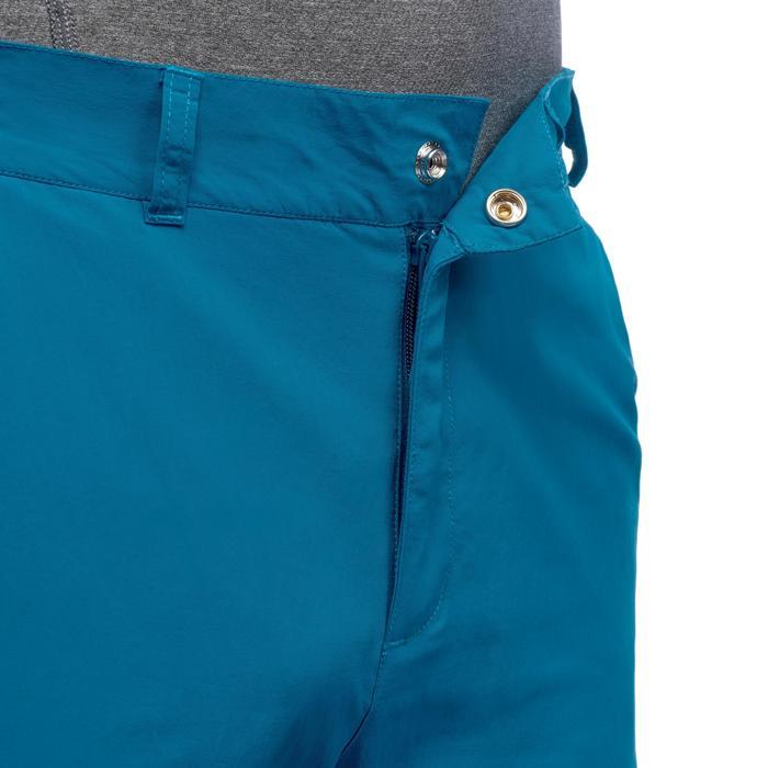 Pantalón corto Senderismo en la montaña MH100 hombre Azul