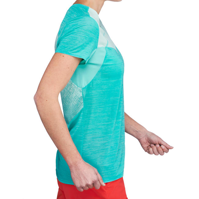 Women's T shirt FH500 Helium - Turquoise