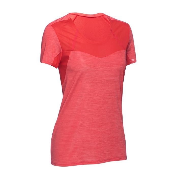 Dames T-shirt voor fast hiking FH500 Helium - 1316176