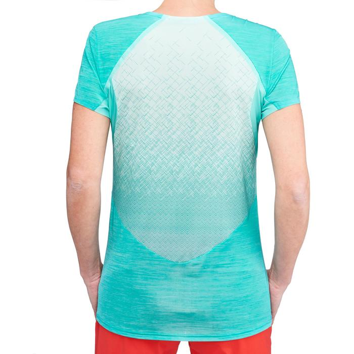 Dames T-shirt voor fast hiking FH500 Helium - 1316177