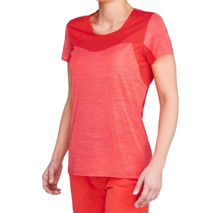 Dames T-shirt voor fast hiking FH500 Helium - 1316178
