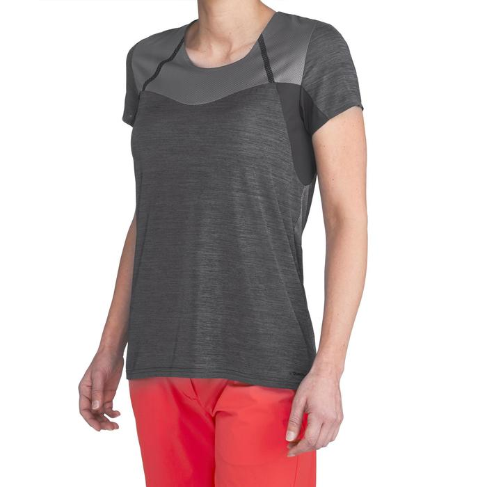 Dames T-shirt voor fast hiking FH500 Helium - 1316181