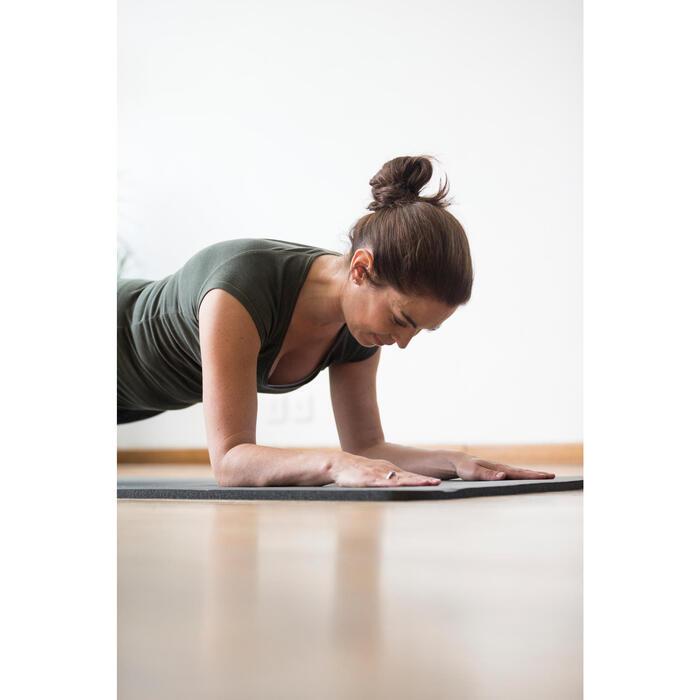 Corsario FIT+ 500 slim gimnasia y pilates mujer estampado verde