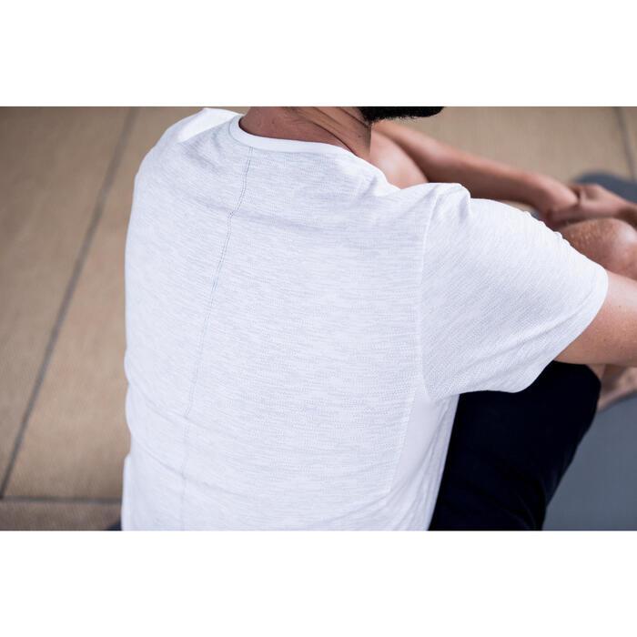 T-Shirt 520 regular col rond Gym & Pilates AOP homme - 1316375