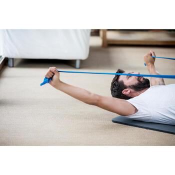 T-Shirt 520 regular col rond Gym & Pilates AOP homme - 1316379