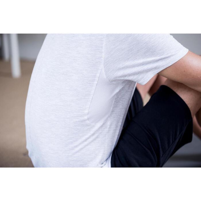 T-Shirt 520 regular col rond Gym & Pilates AOP homme - 1316383
