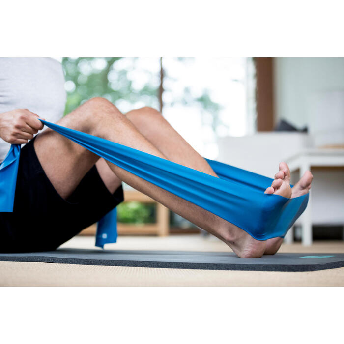 T-Shirt 520 regular col rond Gym & Pilates AOP homme - 1316398