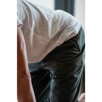 T-Shirt 520 regular col rond Gym & Pilates AOP homme - 1316417